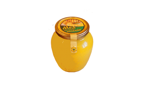 Мед цветочный полевой 750 грамм (нетто)