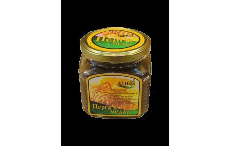 Мед с пергой 400 грамм (нетто)