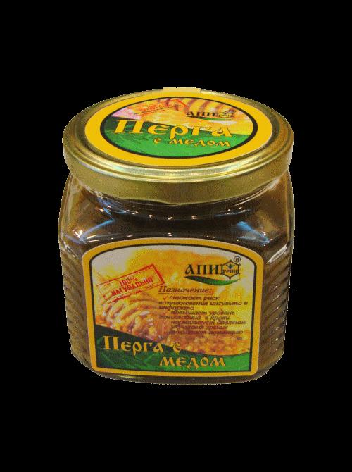мужская сила перга с медом